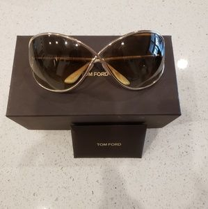 Tom Ford Miranda Sunglasses in shiny bronze